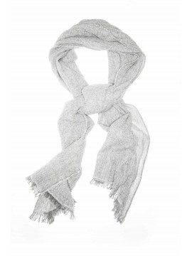Pearl/Anthracite Scarf