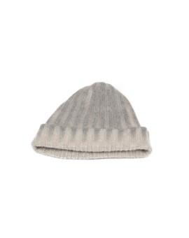Cashmere Knit Hat in Cream