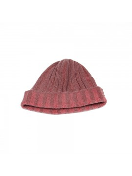 Cashmere Knit Hat in Red