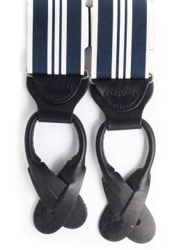 Navy/White Stripes