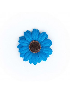 Steel Blue Baby Daisy/Vintage