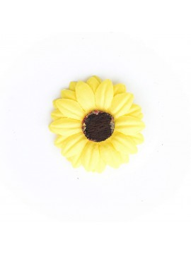 Bright Yellow Baby Daisy/Vintage