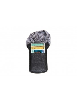 BLACK CARTE POCHE WALLET
