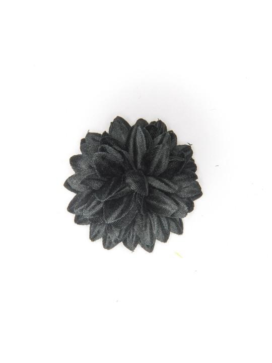 Black Daisy Boutonniere/Lapel Flower