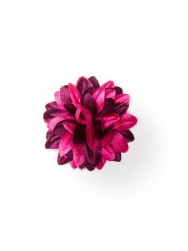 Hot Pink/Merlot Daisy Boutonniere/Lapel Flower