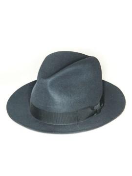 Asphalt Edward Armah Lapin Fur Felt Hat