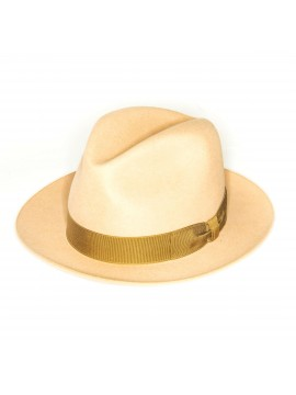 Camel Edward Armah Lapin Fur Felt Hat