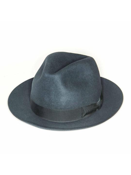 Asphalt Regina Lapin Fur Felt Hat