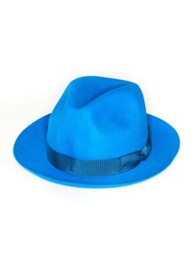 Cerulean Regina Lapin Fur Felt Hat