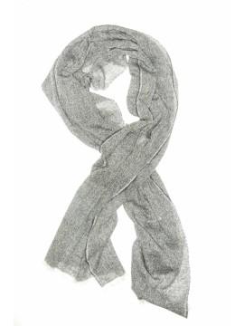 Fenella/Graphite Virgin Wool Edward Armah Scarf